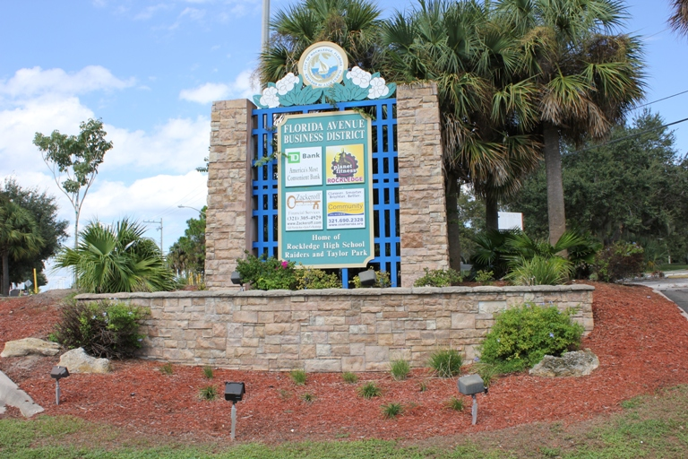 Florida Avenue Business District Sign